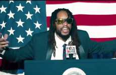 Political Rap Parodies - Rock the Vote Asks You to Turn Out for What