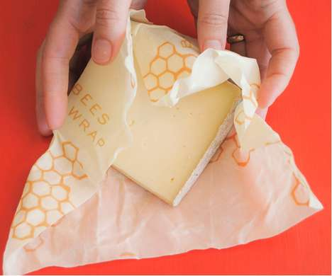Eco Honeycomb Packaging - Every Layer of Bee's Wrap is Eco-Friendly and Fittingly Functional