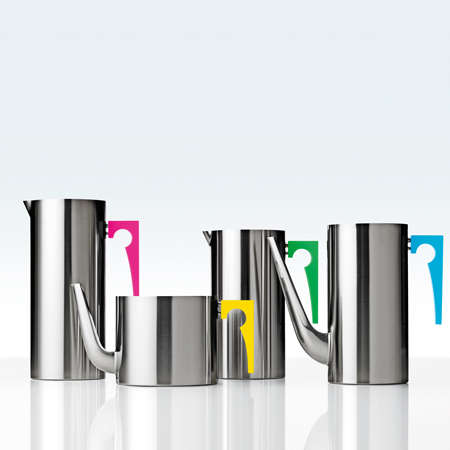 Chrome Coffee Collections - This Stainless Steel Coffee Pot Line was Designed By Paul Smith