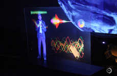 Space Center Holographics - Instituting Science In Schools Debuts a NASA Holographic Presentation