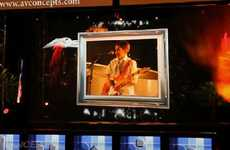 Holographic Projection Technology - AV Concepts Offers Three-Dimensional Presentation Opportunities