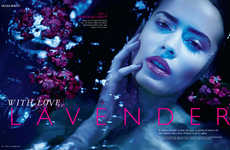 Grazia India's With Love, Lavender Story Highlights Purple Makeup Looks