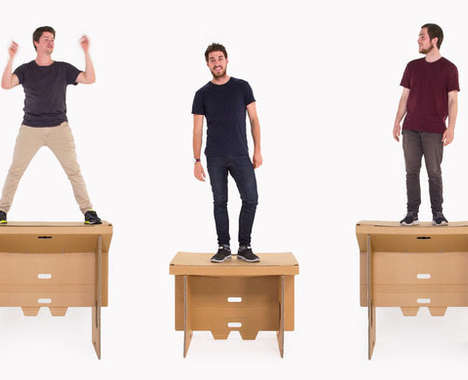 Tough Cardboard Tables