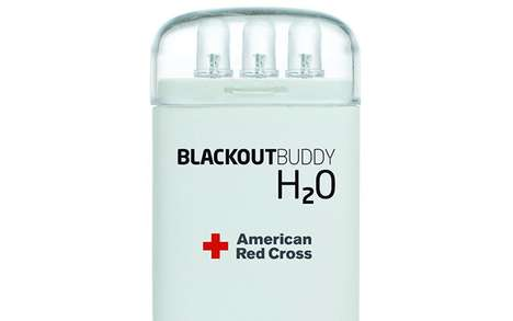 Water-Powered Flashlights - Blackout Buddy H2O Produces 72 Hours of Illumination with 1 Cup of Aqua