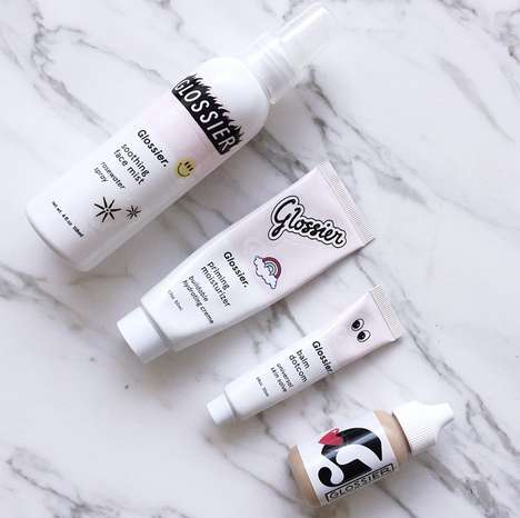 Beauty Blogger Concoctions - Former Vogue Assistant Introduces Glossier Skin Care Line for Her Blog