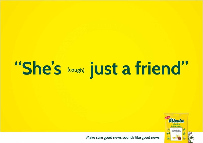 Comical Cough Ads