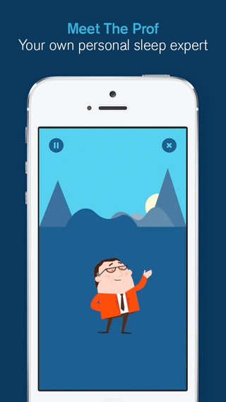 Sleep Improvement Apps - This App Sleep Tracker Has 'The Prof' Teach You How to Sleep Better