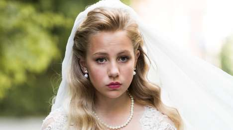 Marriage-Stopping Social Campaigns - Plan Norway is Raising Awareness of a 12 Year Old Child Bride