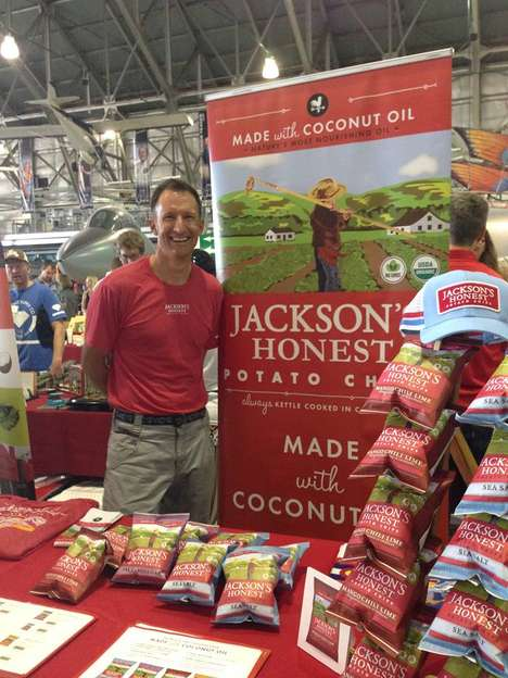 Coconut Oil Potato Chips - Jackson's Honest Potato Chips Only Contain Three Simple Ingredients