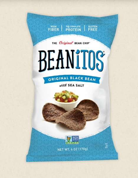 Protein-Packed Bean Chips - Beanitos' Flavored Chips Have a Base of Beans Rather Than Potatoes
