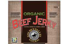 Wholesome Jerky Snacks - Golden Valley Natural's Beef Jerky Snacks Are Clean and Organic