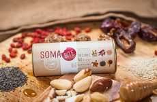 Homemade Healthy Snacks - Soma Bites Boasts Sophisticated Packaging Targeting Organic Eaters