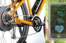 Cardio-Monitoring Bicycle Kits - This Heart Rate-Measuring E-Bike Kit Helps Achieve Fitness Targets