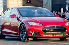 Record-Breaking Electric Vehicles - The Tesla Model S P85D Rivals the McLaren F1 in Performance