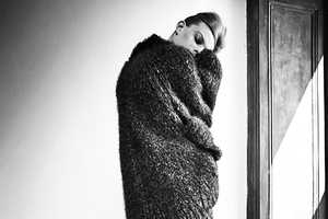 Lexi Boling Dons Oversized Knits for CR Fashion Book