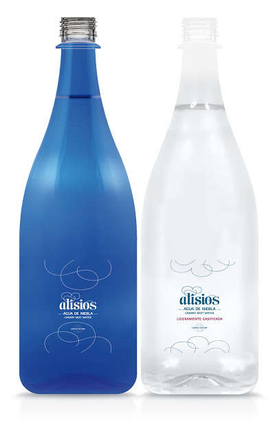 Cloud-Sourced Water - Alisios' Fog Water is Harvested from Clouds of the Canary Island Mountains