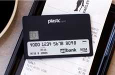Wallet-Consolidating Cards - The Plastc Card Can Replace Up to 20 Different Cards