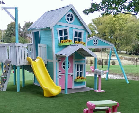 Whimsical Outdoor Playhouses
