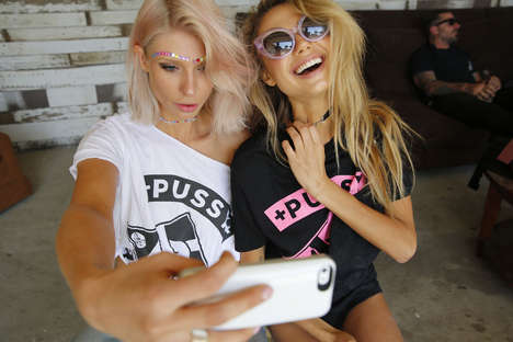 Provocative Posse Campaigns - The Yeah Pussy Campaign Lets the Girls Go Wild