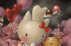 Hello Kitty Art - 40 Artists Create Original Works to Celebrate the Brand's 40th Anniversary