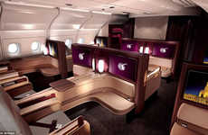 20 First Class Flying Innovations - From Luxury Airplane Suites to Luxe Airline Accomodations