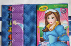Coloring Book Cases - The Frozen Take-Along Coloring Tote Inspires Creativity On-the-Go