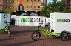 Carbon-Free Food Transport - This Eco Food Delivery Service Focuses on Local Business Relationships