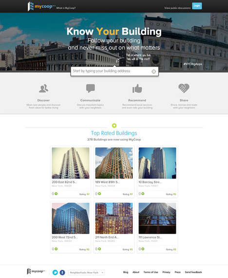 Residential Social Networks - This Social Network for Buildings Brings Local Communities Online