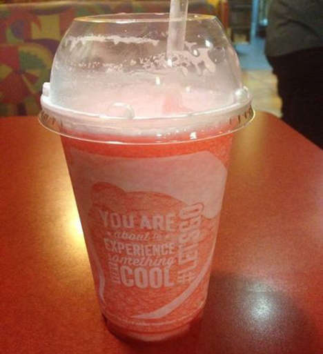 Chewy Candy Slushies - Taco Bell's New Starbust Slushie Flavor Replicates the Candy's Sweet Taste