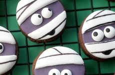 Miniature Mummy Cookies