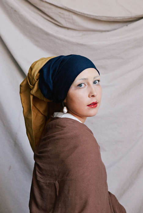 Famous Painting Costumes - This Girl With a Pearl Earring Halloween Costume is a Great DIY Project