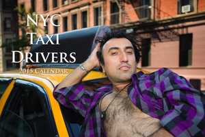 NYC Taxi Drivers are Humorously Showcased in a 2015 Calendar Series
