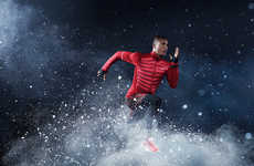 Cold Weather Workout Gear - The Nike Winter Running Collection Provides Performance in the Elements