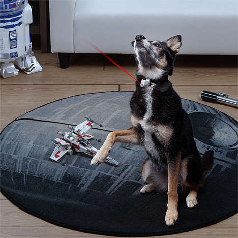 Automated Pet Toys - The Laser Collar Pet Toy Ensures Fido Can Play Even if you Aren't Around