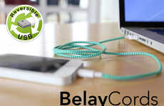 Omnidirectional Charging Cables - BelayCords are Stylish and Rugged to Ensure Optimal Usage