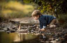 Outdoor Children Photography - Adrian Murray Captures His Sons in Whimsical Scenarios