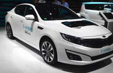 Supercharged Electric Car Concepts - The Kia Optima T-Hybrid Offers High Performance & Fuel Economy
