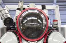 Submersible Exosuits - This Exosuit System Lets Divers Safely Access the Dark Ocean Depths