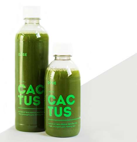 Hipster Juice Packaging - Dose Introduces a Colorful Brand Redesign