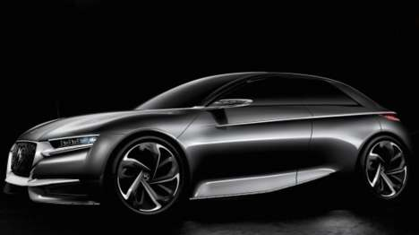 Luxurious Concept Cars - The Citroen Divine DS is an Ultra-Luxurious Concept Vehicle