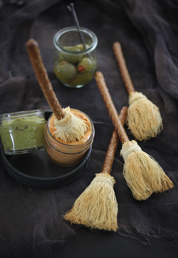 Witchy Broomstick Snacks