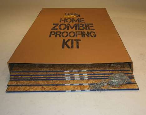 Apocalyptic Home Kits - Century 21's Zombie Apocalypse Kit Helps to Board Up Homes