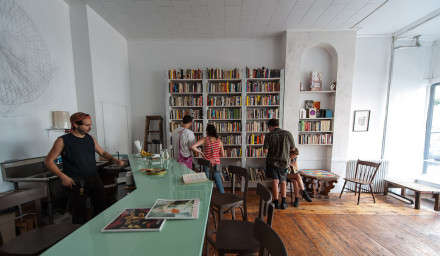 Booze-Bartering Bookstores - Molasses Books in New York Lets You Trade Books For Beer