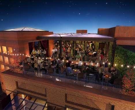 Outdoor Skylight Dining Areas