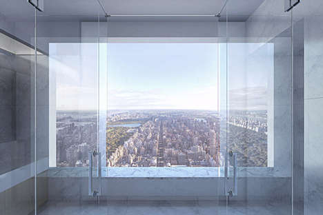 Panoramic NYC Apartments - 432 Park Avenue Boasts an $80 Million Penthouse Designed by Deborah Berke