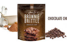 Healthy Snack Hybrids - Brownie Brittle is a Delicious Dessert That Cuts the Calories