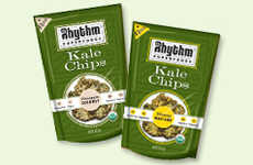 Crispy Kale Chips - Rhythm Superfoods' Kale Chips Are Delicious and Nutritious