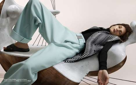50 Examples of Casual Fall Fashion - From Lazy Morning Lookbooks to Luxe Comfort Apparel