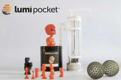 Pocket-Size 3D-Printers - LumiPocket is a Small 3d Printer That is Powerful and Affordable