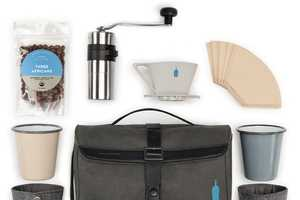 This Compact Coffee-Making Kit is Designed for Use on the Go